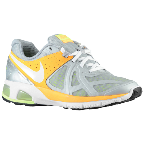 Nike Air Max Run Lite 5 - Women's Running Shoes - Metallic Silver/Atomic Mango/Volt/White 31664006