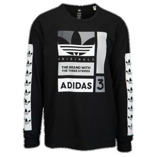 Adidas Originals Graphic Long Sleeve T Shirt Men S Casual