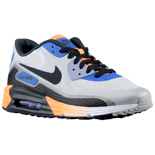 designer fashion 7153e 3f8eb well-wreapped Nike Air Max Lunar 90 Mens Running Shoes White Game Royal  Wolf Grey