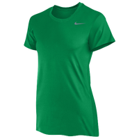 Nike Team Legend Short Sleeve T-Shirt - Women's - Green / Grey