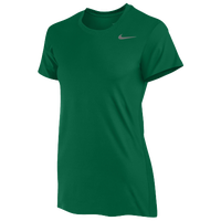 Nike Team Legend Short Sleeve T-Shirt - Women's - Dark Green / Dark Green