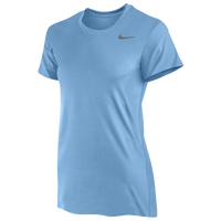 Nike Team Legend Short Sleeve T-Shirt - Women's - Light Blue / Light Blue