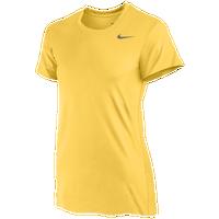 1622a5f9fe7 Nike Team Legend Short Sleeve T-Shirt - Women s - Gold   Gold