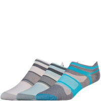 ASICS® Quick Lyte Single Tab 3 Pack Socks - Women's - Multicolor / Multicolor