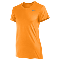 Nike Team Legend Short Sleeve T-Shirt - Women's - Orange / Grey