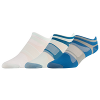 ASICS® Quick Lyte Single Tab 3 Pack Socks - Women's - White / Blue