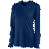 Nike Team Legend Long Sleeve T-Shirt - Women s - Navy   Navy 167585812