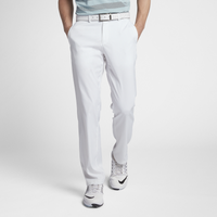Nike Flat Front Golf Pants - Men's - All White / White