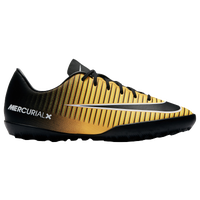 Nike Mercurial Vapor XI TF - Boys' Grade School - Gold / Black