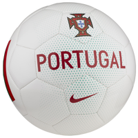 Nike Supporters Soccer Ball - Portugal - White / Cardinal