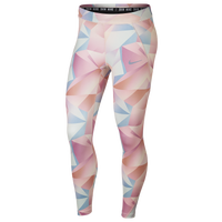 Nike Speed 7/8 Printed Tights - Women's - Pink