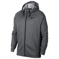 Nike Therma Full Zip Hoodie - Men's - Grey / Black