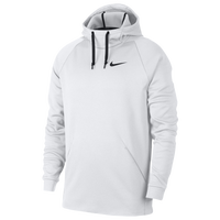 Nike Therma Hoodie - Men's - White / Black