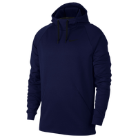 Nike Therma Hoodie - Men's - Navy / Black