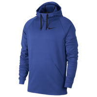 Nike Therma Hoodie - Men's - Blue / Black