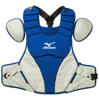 "Mizuno Samurai 15"" Intermediate Chest Protector - Men's - Blue / Grey"
