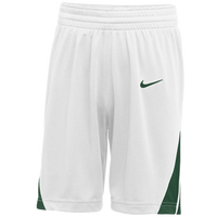 Nike Team National Shorts - Men's - White / Dark Green