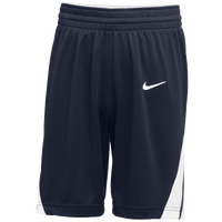 Nike Team National Shorts - Men's - Navy / White