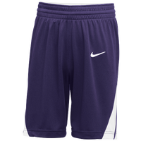 Nike Team National Shorts - Men's - Purple / White
