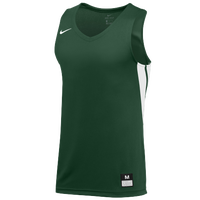 Nike Team National Jersey - Men's - Dark Green / White