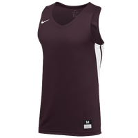 Nike Team National Jersey - Men's - Maroon / White