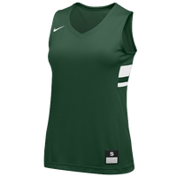 Nike Team National Jersey - Women's - Dark Green / White