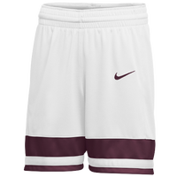 Nike Team National Shorts - Women's - White / Maroon