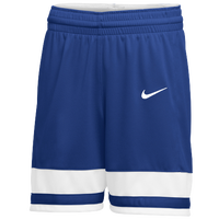 Nike Team National Shorts - Women's - Blue / White