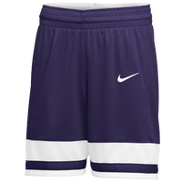 Nike Team National Shorts - Women's - Purple / White