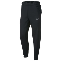 Nike Therma Tapered Pants - Men's - Black / Silver