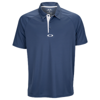 Oakley Elemental 2.0 Golf Polo - Men's - Navy / White
