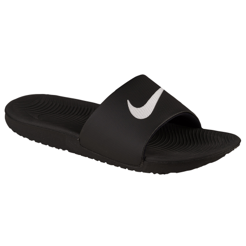 Nike Kawa Slide Men S Casual Shoes Black White