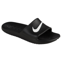 Nike Kawa Shower Slide - Women's - Black / White
