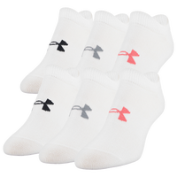 Under Armour Essential 6 Pack 2.0 No Show Socks - Women's