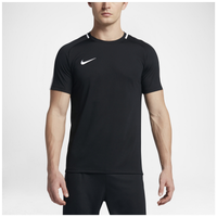 Nike Academy Short Sleeve Top - Men's - Black / White