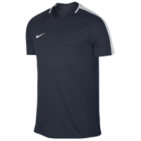 Nike Academy Short Sleeve Top - Men's - Navy / White