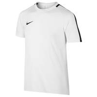 Nike Academy Short Sleeve Top - Grade School - White / Black