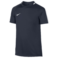 Nike Academy Short Sleeve Top - Grade School - Navy / White