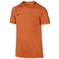 Nike Academy Short Sleeve Top - Grade School - Orange / Black