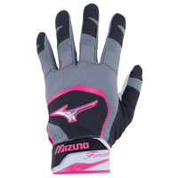 Mizuno Finch Batting Gloves - Women's - Black / Pink