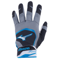 Mizuno Finch Batting Gloves - Women's - Grey / Light Blue