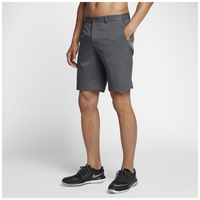 Nike Flat Front Golf Shorts - Men's - Grey / Grey