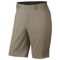 Nike Flat Front Golf Shorts - Men's - Tan / Tan