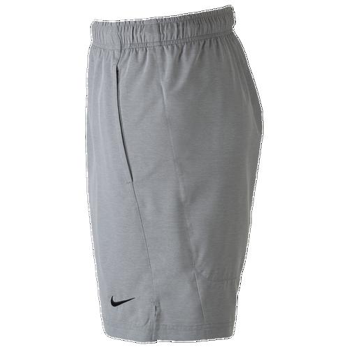 Nike Flex Woven Shorts - Men's - Training - Clothing - Carbon  Heather/Carbon Heather/Black