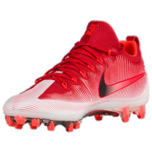Reliable Nike Vapor Untouchable Pro Men Football Shoes Red White Black