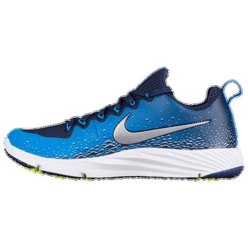 Nike Vapor Speed Turf - Men's Football Shoes - Midnight Navy/Metallic Silver/Photo Blue 33408404