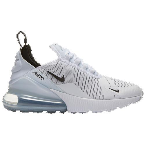 Nike Air Max 270 - Boys' Grade School - Casual - Shoes - White/Black/White