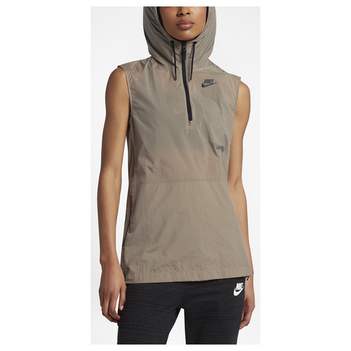 Nike Tech Hypermesh Vest - Women's Casual - Khaki/Black 33464235