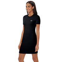 Nike Short Sleeved Ringer Dress - Women's - Black / White