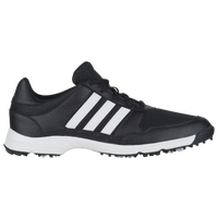 adidas Tech Response Golf Shoes - Men's - Black / White
